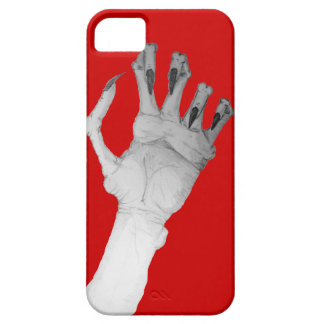 Scary gruesome monster hand with long nails art iPhone 5 cases