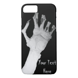 Scary gruesome monster hand with long nails art iPhone 8/7 case