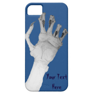 Scary gruesome monster hand with long nails art iPhone SE/5/5s case