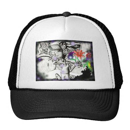 Scary Guy Mesh Hats