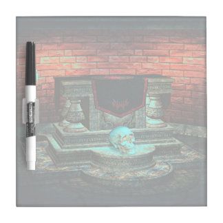 Scary hallow House Dry Erase Board