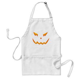 Scary Halloween 2009 Pumpkin Face Apron