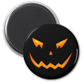 Scary Halloween 2009 Pumpkin Face Refrigerator Magnet