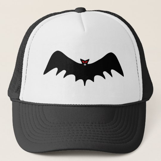 Scary Halloween Bat Trucker Hat