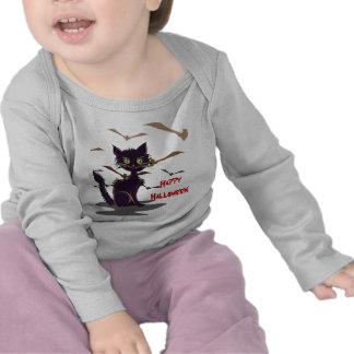 Scary Halloween Cat! Tshirts