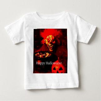 Scary Halloween Clown Design Baby T-Shirt