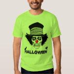 Scary Halloween Creepy Clown Skull Tshirt