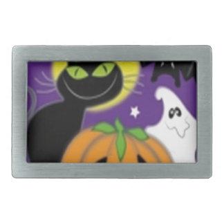 Scary Halloween design Belt Buckle