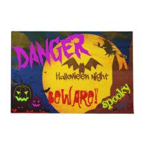 Scary Halloween Doormat