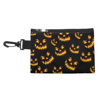 Scary Halloween Faces Accessory Bags