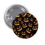 Scary Halloween Faces Pins