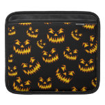 Scary Halloween Faces Sleeve For iPads