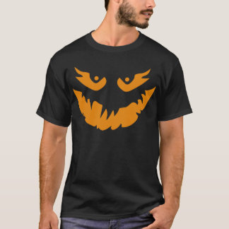 Scary Halloween Jack O'Lantern Shirt