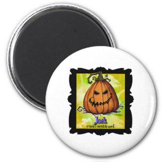 Scary Halloween Jackolatern Magnet