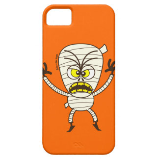Scary Halloween Mummy Emoticon iPhone 5 Covers