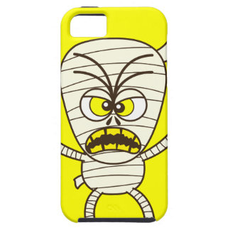 Scary Halloween Mummy Emoticon iPhone 5 Cover