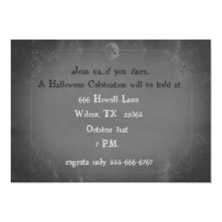 Scary Halloween Party Invitation