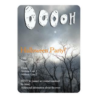 Scary Halloween Party Invitation