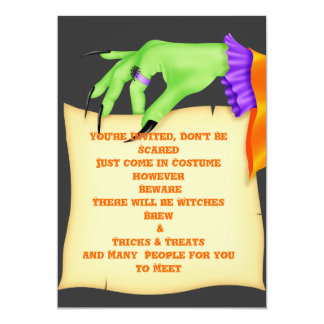 Scary HALLOWEEN PARTY INVITATIONS Scary & Cute