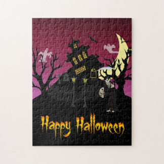 Scary Halloween Puzzle