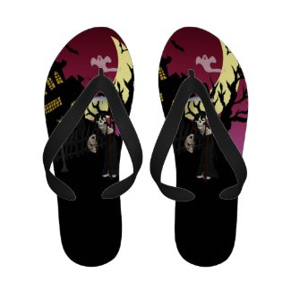 Scary Halloween Sandals