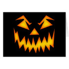 Scary Halloween Smile Card