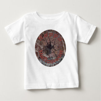 Scary Halloween Spider Baby T-Shirt