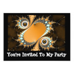 Scary Halloween Two Eye Creature Party Invitation at Zazzle