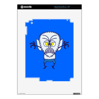 Scary Halloween Werewolf Emoticon Skins For iPad 2