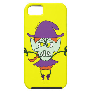 Scary Halloween Witch Emoticon iPhone 5 Cover