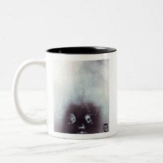 Scary Harry by Sean Boyles Two-Tone Coffee Mug