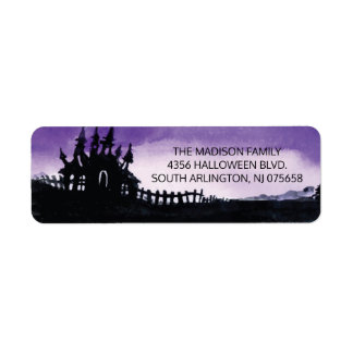 Halloween Shipping Labels