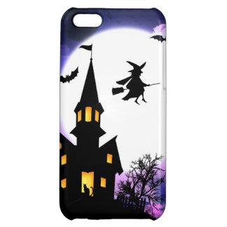 Scary Haunted House  Happy Halloween iPhone 5C Cases