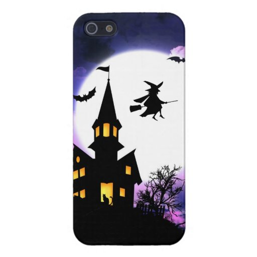Scary Haunted House  Happy Halloween Cases For iPhone 5