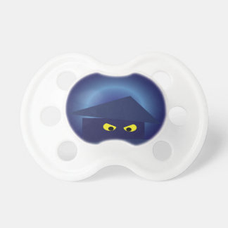 Scary House  Silver Moon Pacifier