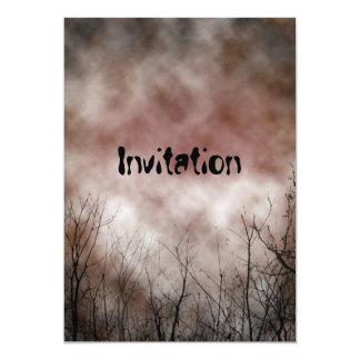 "Scary Invitation 5"" X 7"" Invitation Card"