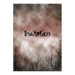 Scary Invitation Invitation