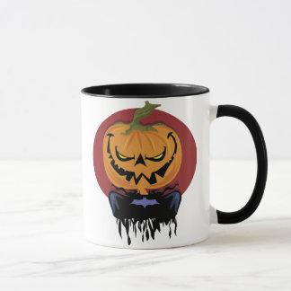 Scary Jack-o-lantern mug