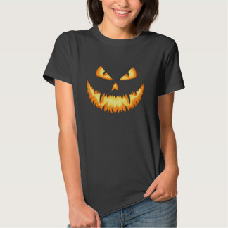Scary Jack O Lantern with an evil grin and hungry T Shirt