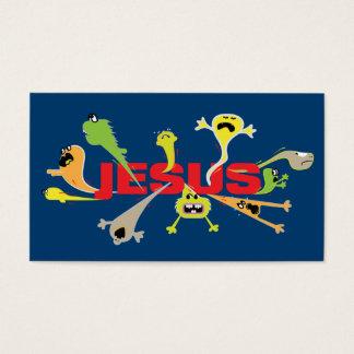 Scary Jesus Scripture Card
