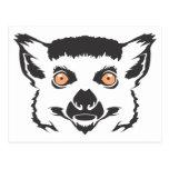 Scary Lemur Post Cards