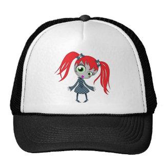 Scary Little Creepy Girl Hats