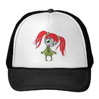 Scary Little Creepy Girl Trucker Hat