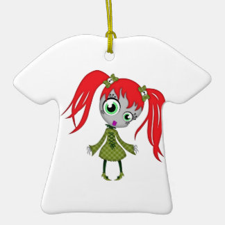 Scary Little Creepy Girl Ornaments