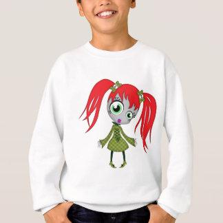 Scary Little Creepy Girl Sweatshirt