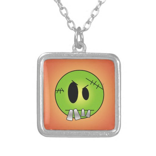 Scary Little Frankenstein Necklace