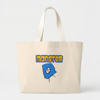 Scary Little Monster Tote Bag