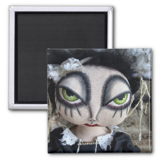 Scary Mary Quite Contrary Magnet