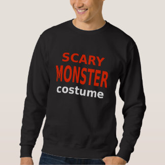 Scary Monster Costume Sweatshirt