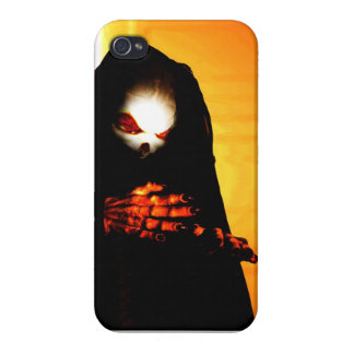 Scary monster cover for iPhone 4
